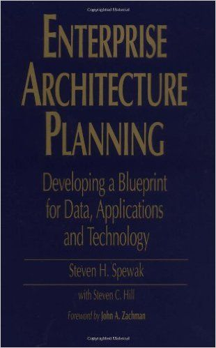 Enterprise Architecture Planning Developing a Blueprint for Data - new blueprint architecture enterprise