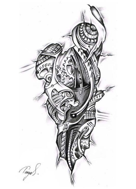 Tattoo Sleeve Flash Template: Tattoos For Men, Wrist Tattoo Template, Wrist Tattoo