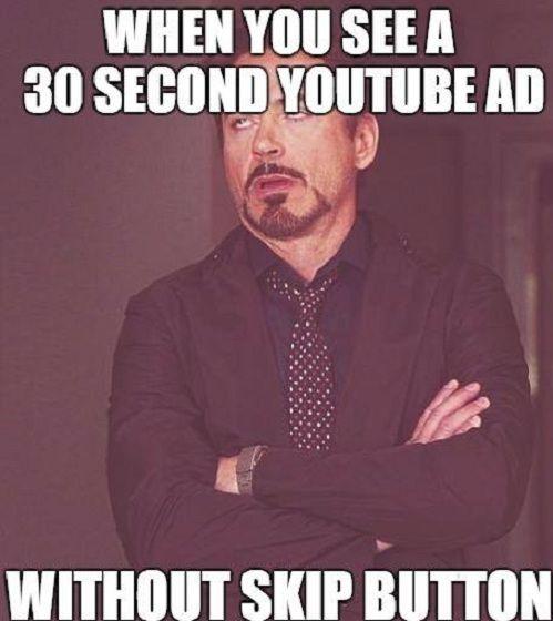 No Skip Button Robert Downey Jr Funny Robert Downey Jr Meme Robert Downey Jr