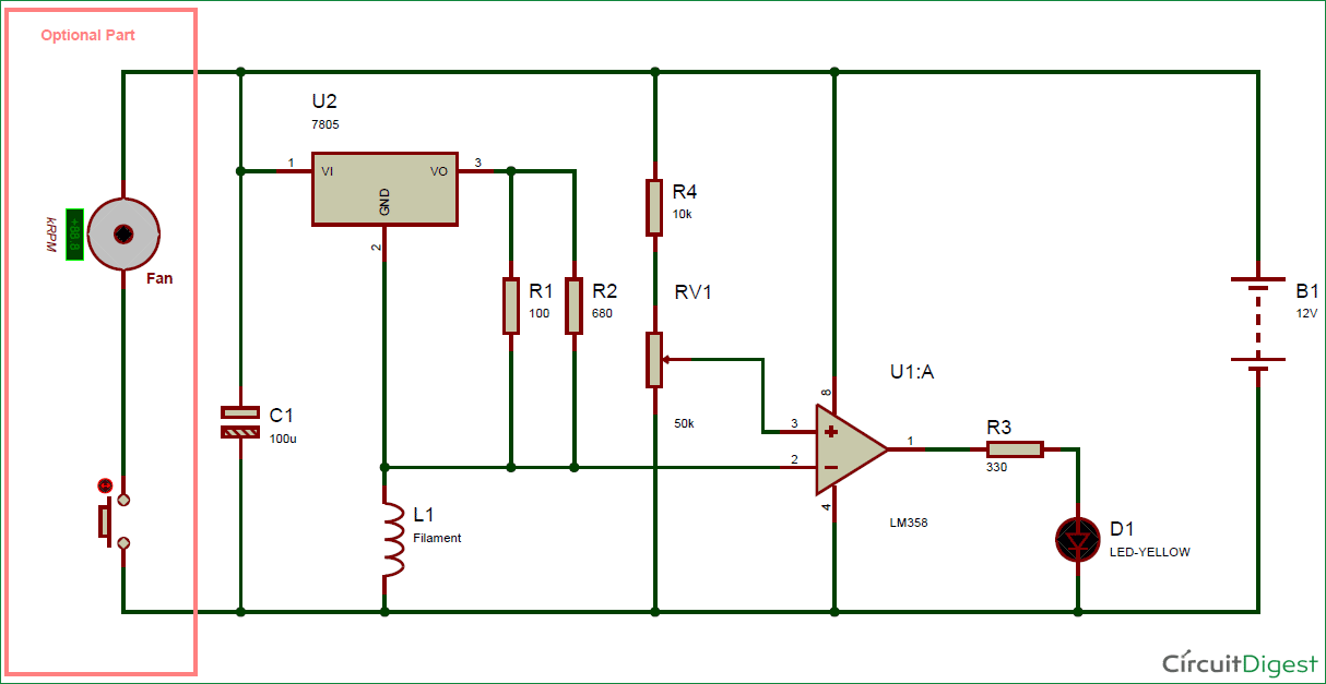 Pin by Circuit Digest on Electronic Circuit Diagrams