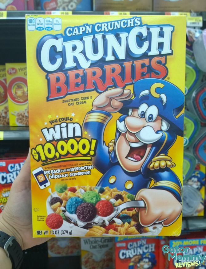 Cap'n Crunch Berries