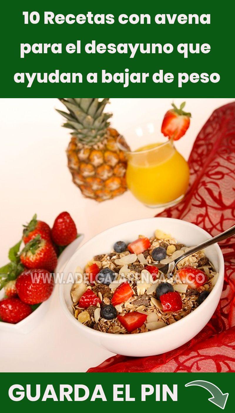 10 Recetas Saludables Para El Desayuno Que Aumentan La Pérdida De Peso Adelgazar En Casa Recetas Saludables Recetas Saludables Para El Desayuno Dieta De La Avena