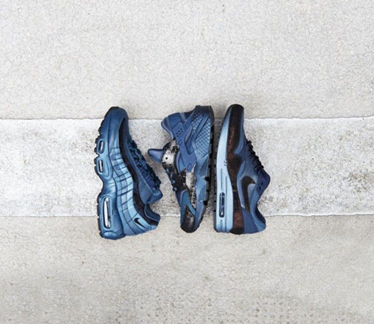 burnt metal blue air max 95