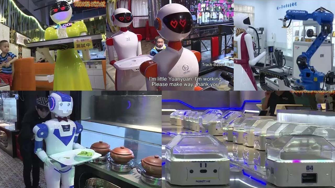Robots Take Over Hong Kong Restaurant