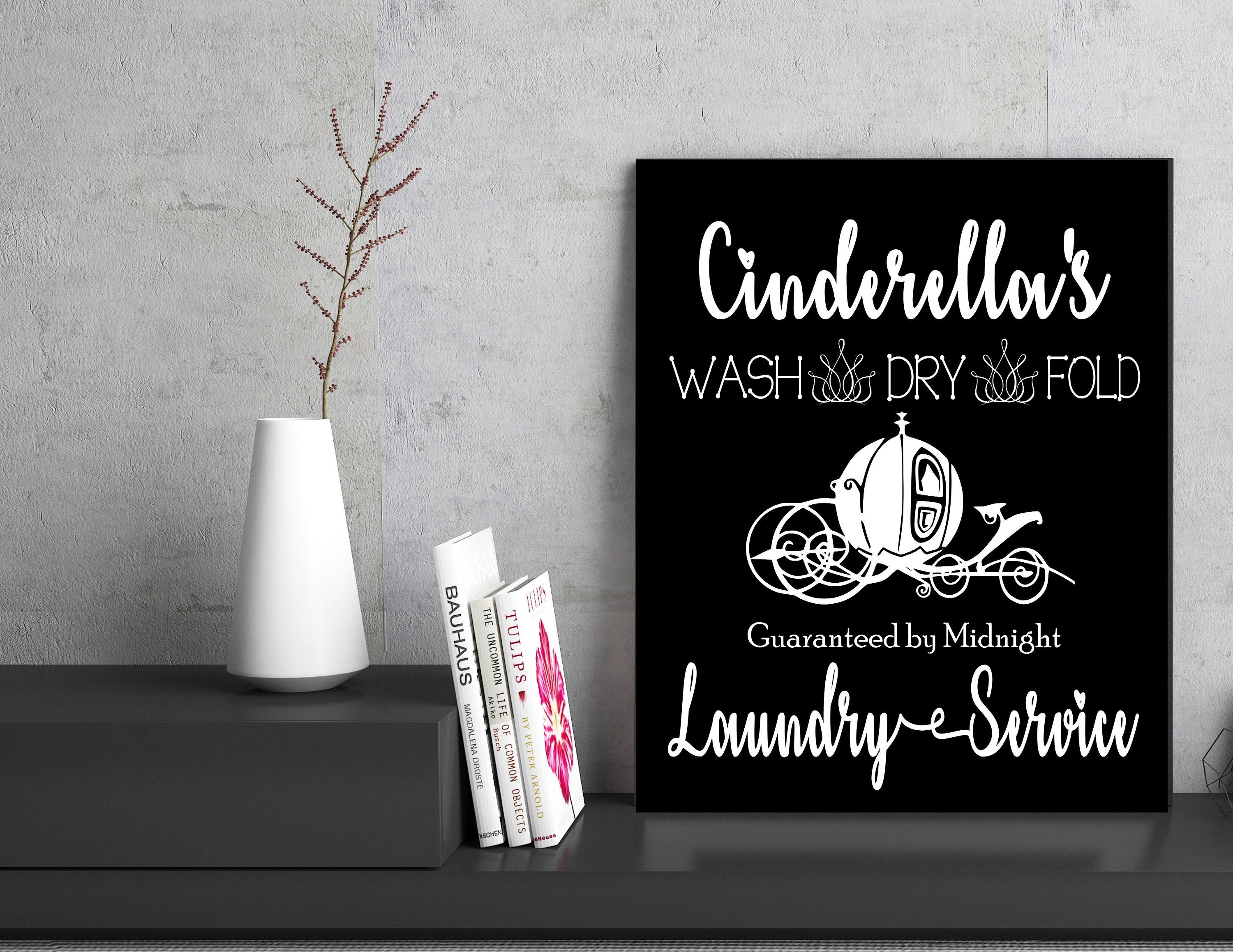 Cinderella S Version Of A Laundry Room Art Print Perfect For A