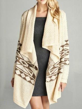 Crema Blanket Sweater