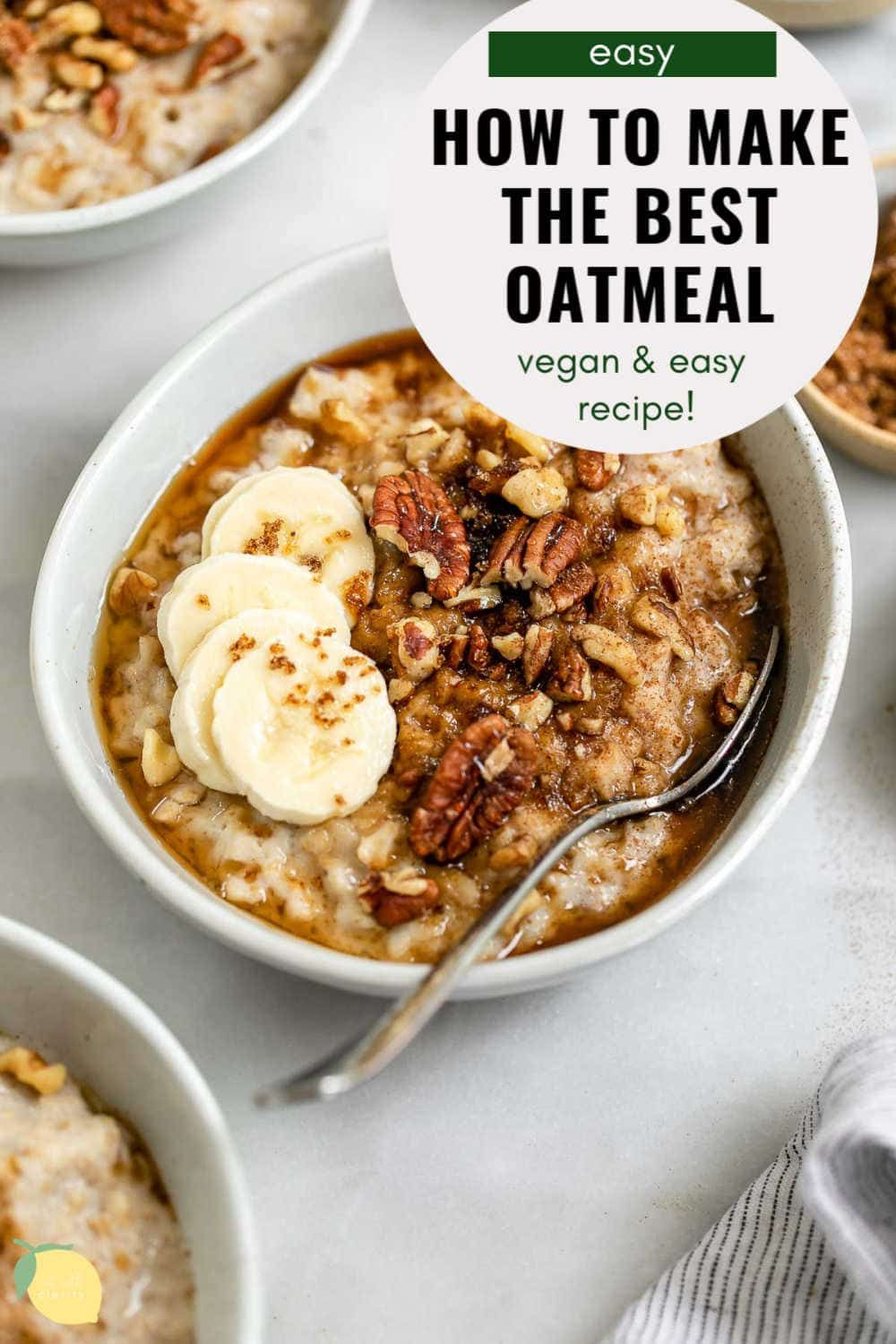 How to make oatmeal easy recipe eat with clarity