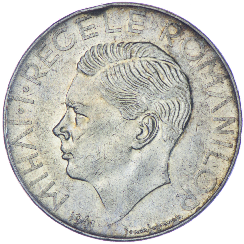 Michael I. 1940 - 1947   500 Lei 1947 Silber  Bukarest, Rumänien