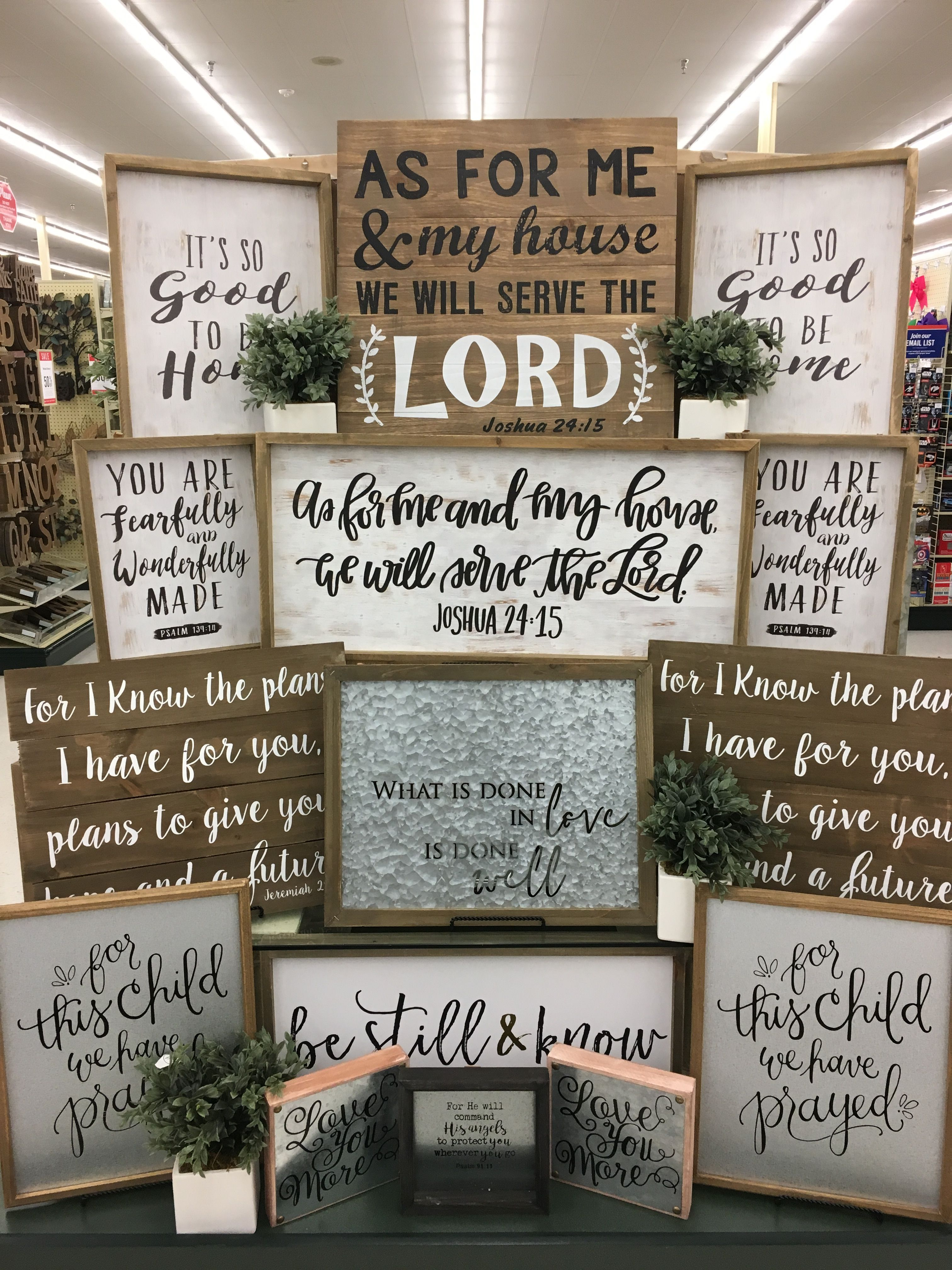Chalkboard Signs, Hobby Lobby, Farm House, Wood Signs, Wood Projects,  Lobbies, Furniture Decor, Wall Decor, Wooden Signs