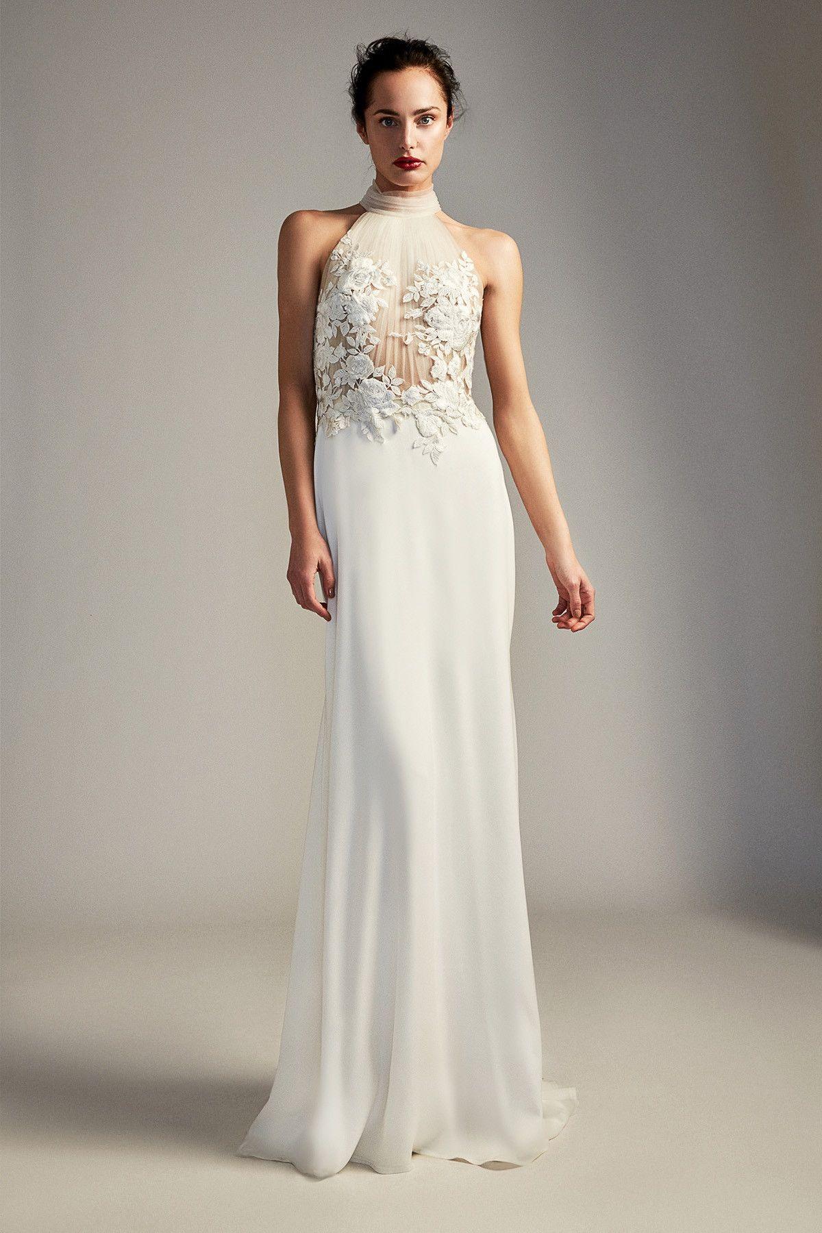 Dianna Gown | Tadashi Shoji | Wedding Dress | Pinterest | Tadashi ...