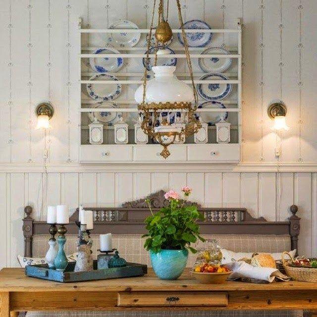 Vicky's Home: Ideas para estantes de platos vintage /Ideas for shelves vintage dishes