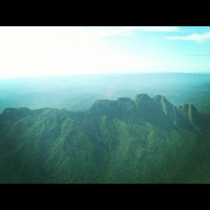 The Sleeping Giant Maya Mountain Range Southern Belize