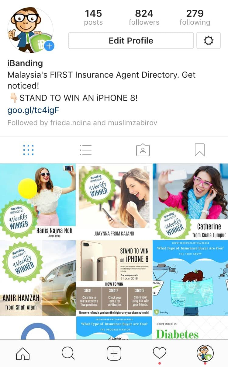 How to build a successful insurance agent instagram