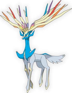 Shiny xerneas shiny yveltal zygarde to be available via nintendo network for american region - Legendaire shiney ...
