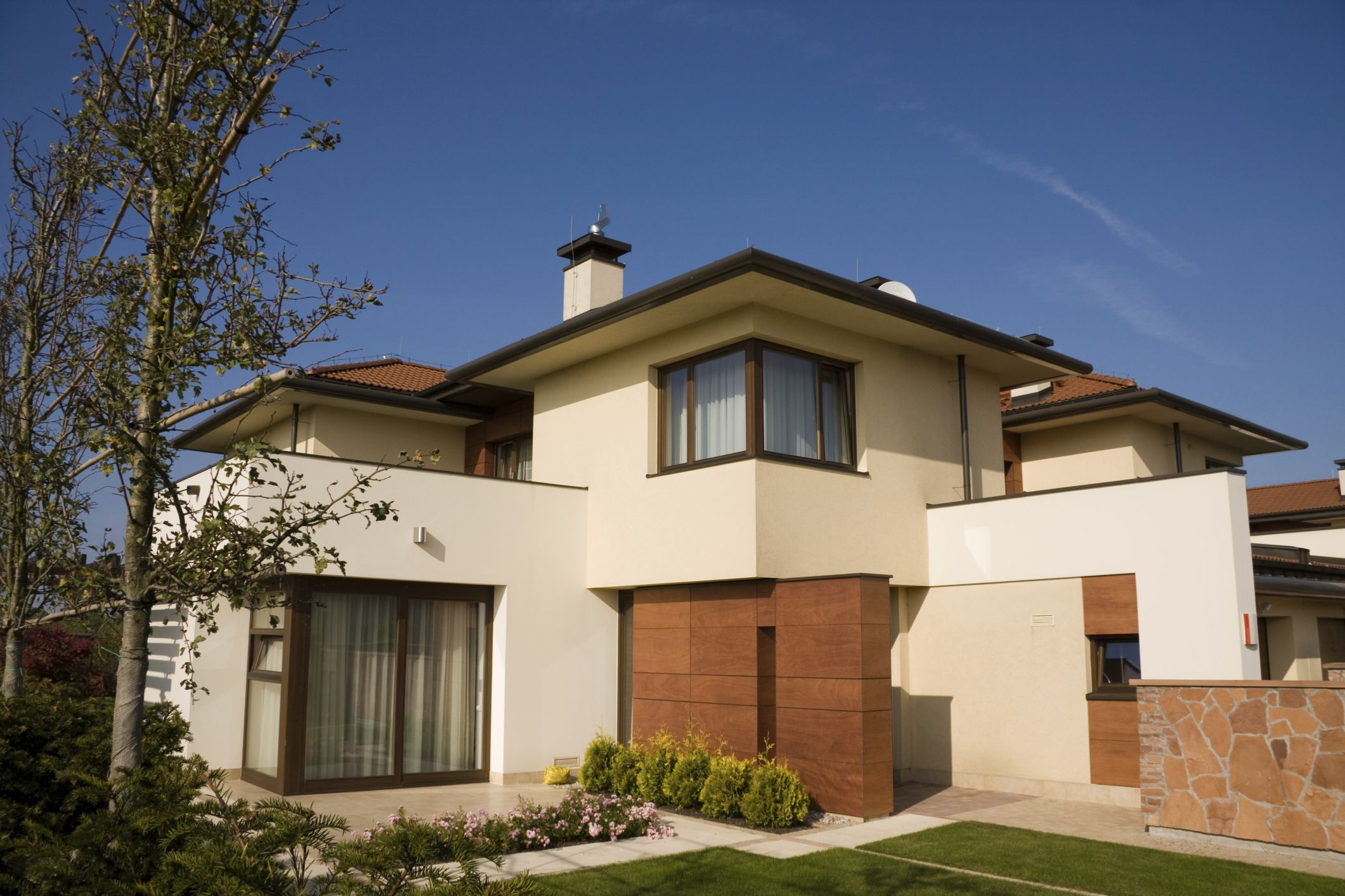 Fotos de fachadas de casas modernas   Mansion and House
