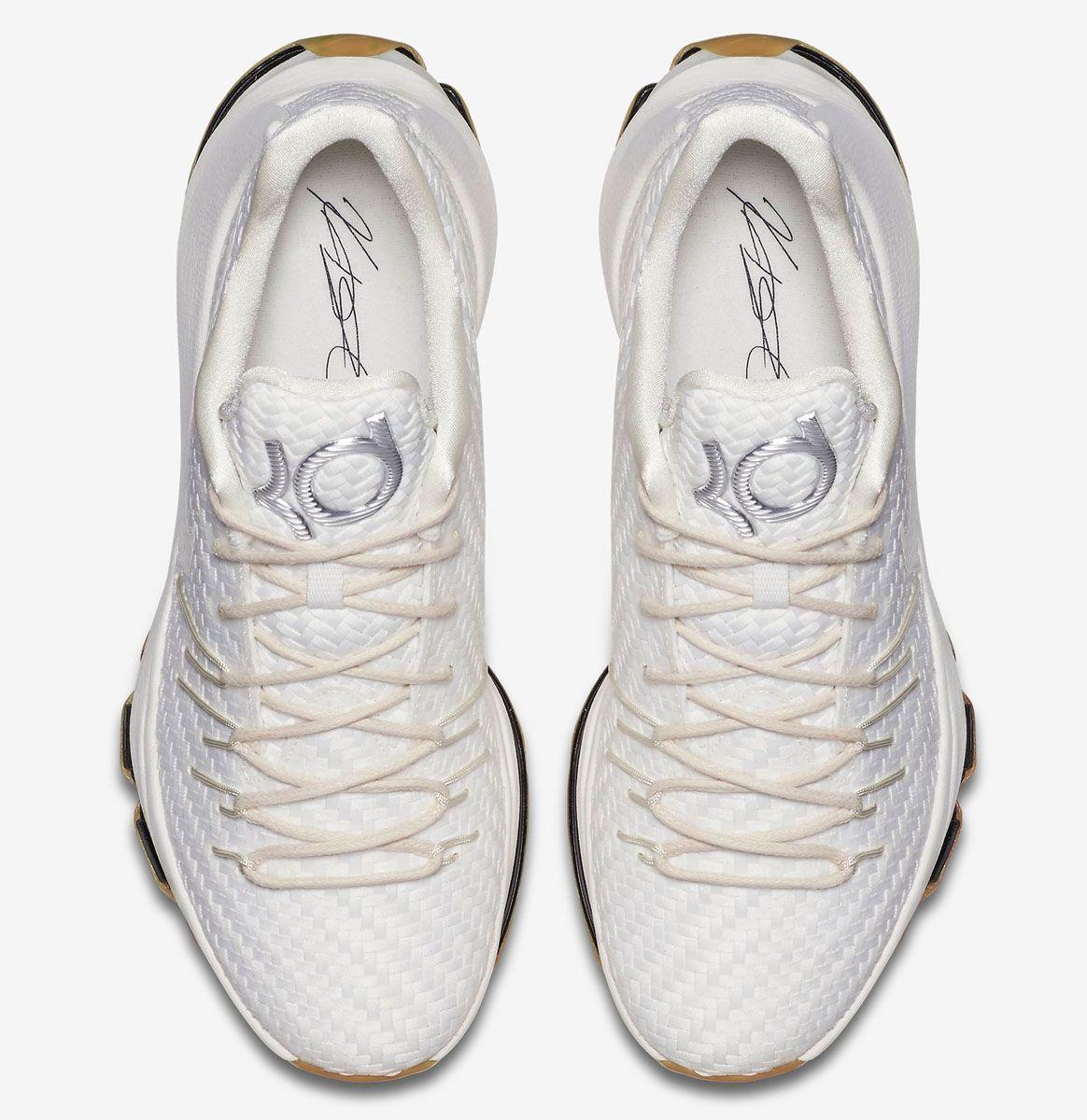 27f578f78431 Nike KD 8 EXT  White Woven