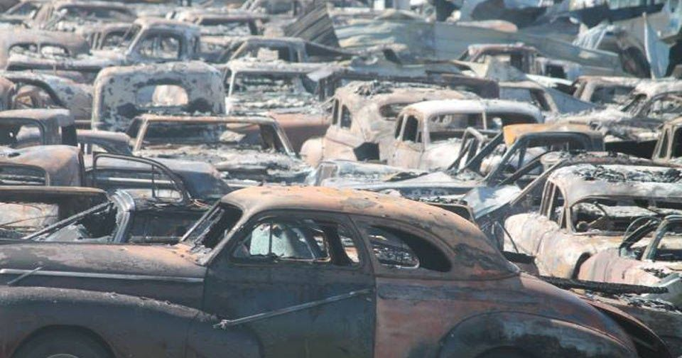 Over 150 Classic Cars Destroyed After Illinois Dealer Fire #Classics ...