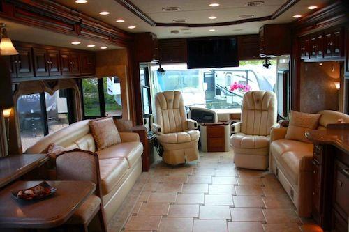 Cheap Motorhome Hire In The Uk Hire Winnebago Luxury Rv Living Rv Interior Luxury Rv