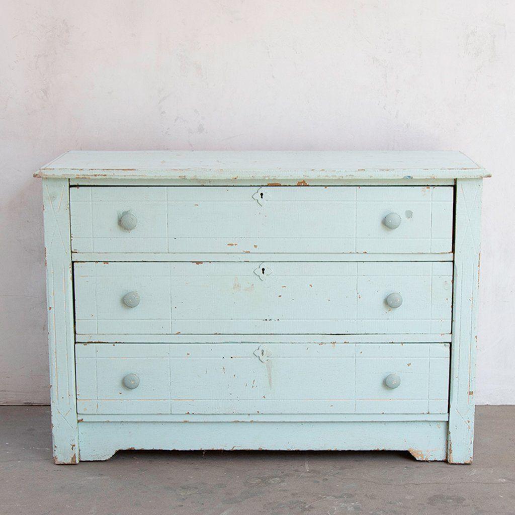 Vintage Light Blue Dresser Shabby Chic Dresser Shabby Chic Furniture Shabby Chic Bedrooms [ 1024 x 1024 Pixel ]