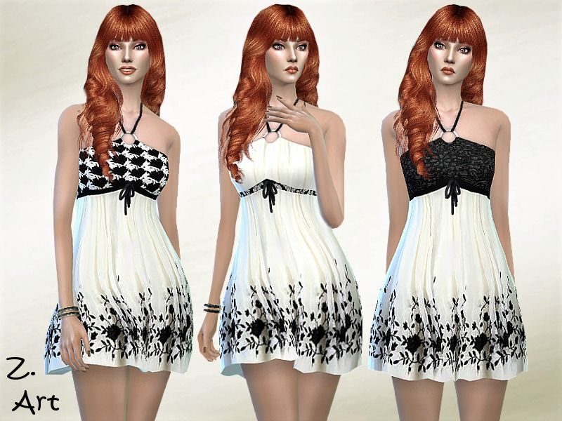 A Fashionable Summer Dress With Neck Holder Suitable For Every Party D Found In