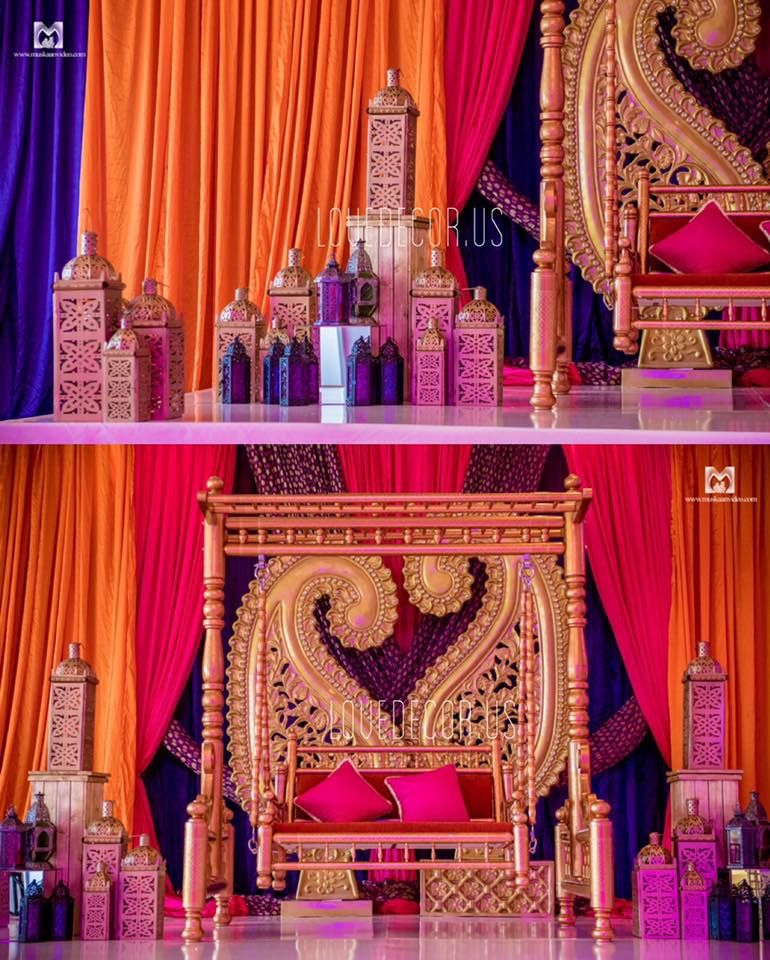 Indian Wedding Mandap Indian Wedding Decor Garba Sangeet Mehndi