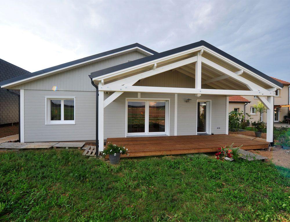 Maisons en bois ossatures bois maison de plain