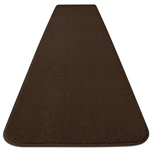 House Home And More Skid Resistant Carpet Runner Chocolate Brown Many Other Sizes To Choose From Carpet Runner Area Rug Runners Deep Carpet Cleaning