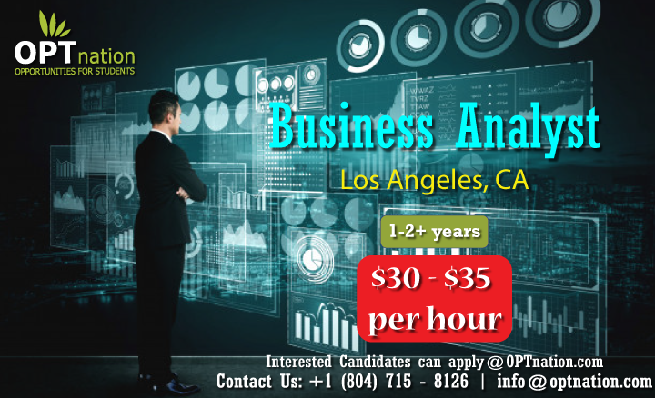 We Re Hiring Business Analyst In Los Angeles Ca In 2020 Business Analyst Analyst Business