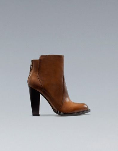 ANKLE BOOT WITH ZIP - Woman - New this week - ZARA United States   I ... fddc1b74d30