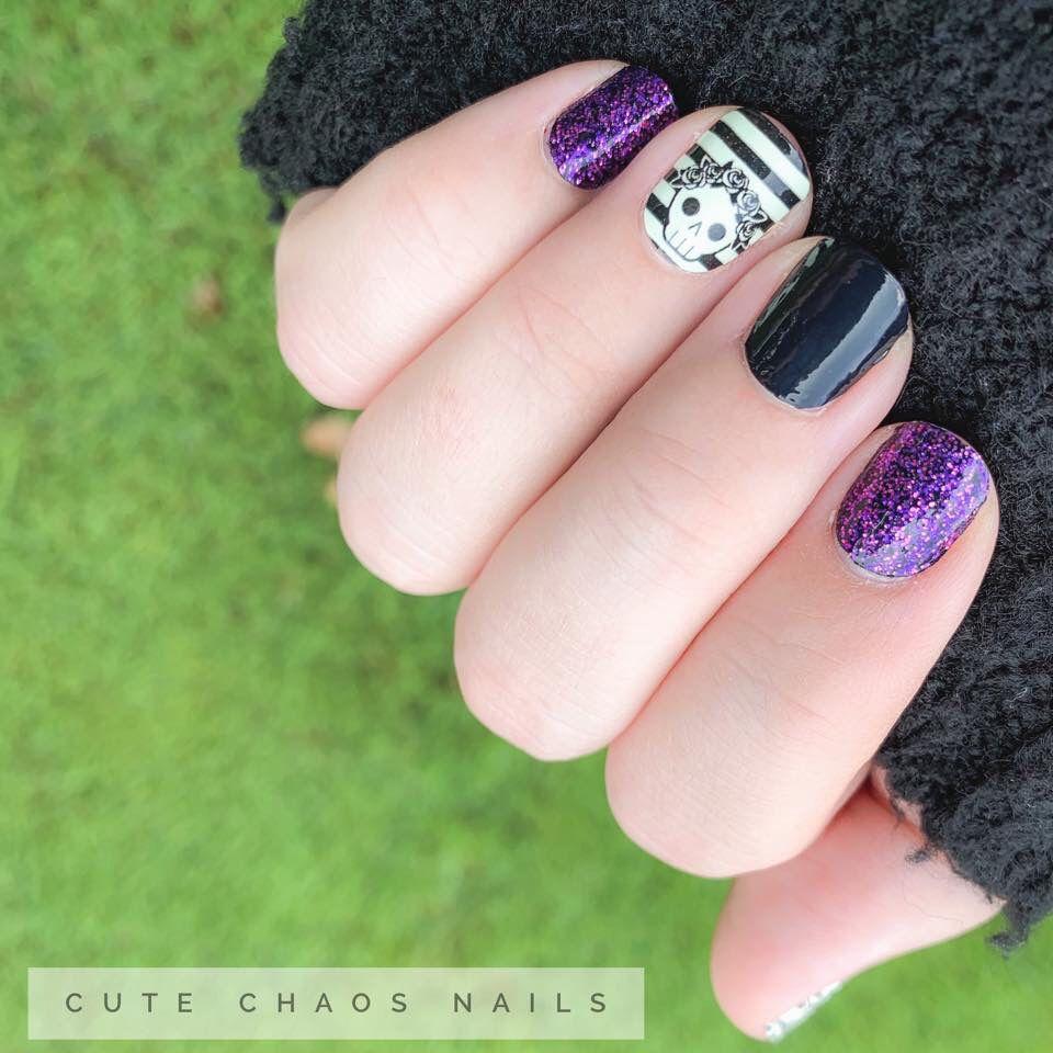 Easy Diy Halloween Nails Color Street Nails Halloween Nails Diy Halloween Nails
