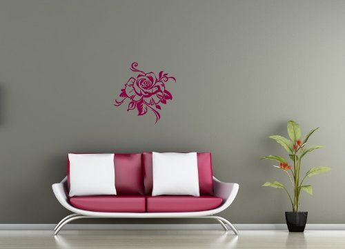 Wall Vinyl Sticker Decal Art Design Beautiful Flower Rose Room Nice Picture Decor Hall Wall Chu481 Thumbs up decals http://www.amazon.com/dp/B00IAB69Y2/ref=cm_sw_r_pi_dp_s5a2tb19XD8YTR52