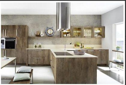 Diseno de cocina modelo oack cucines pinterest for Cocinas claras modernas