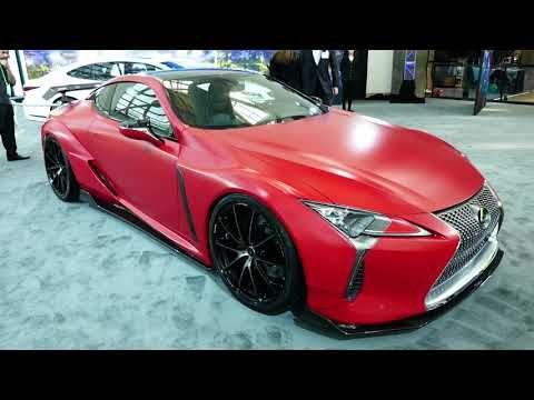 4 New 2018 Lexus Rc 350 F Sport Red Paint Job 2017 La Auto Show Los Angeles Ca Youtube Lexus Lc La Auto Show Lexus