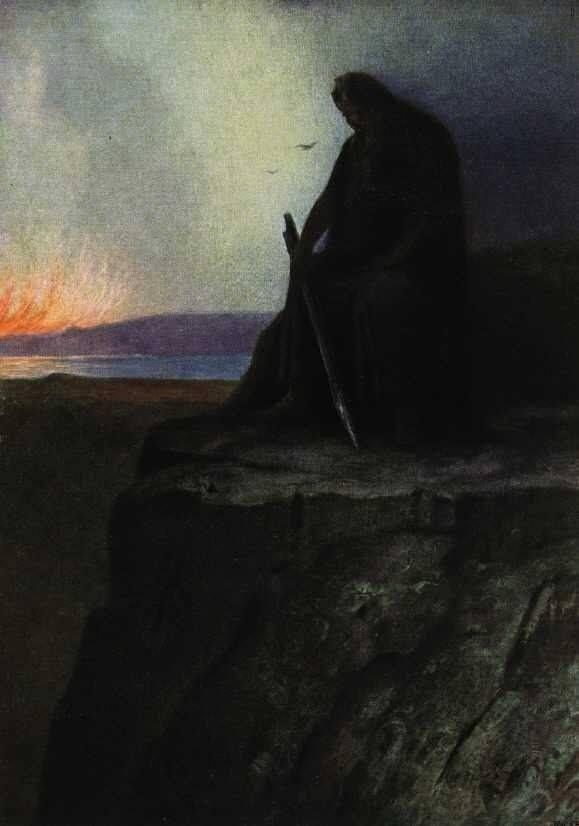 """Hermann Hendrich, """"Wotan"""", 1913"""