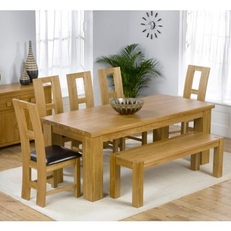 Solid Oak No Veneers 6 Inch Square Legs Legs Off For Delivery Hana ...