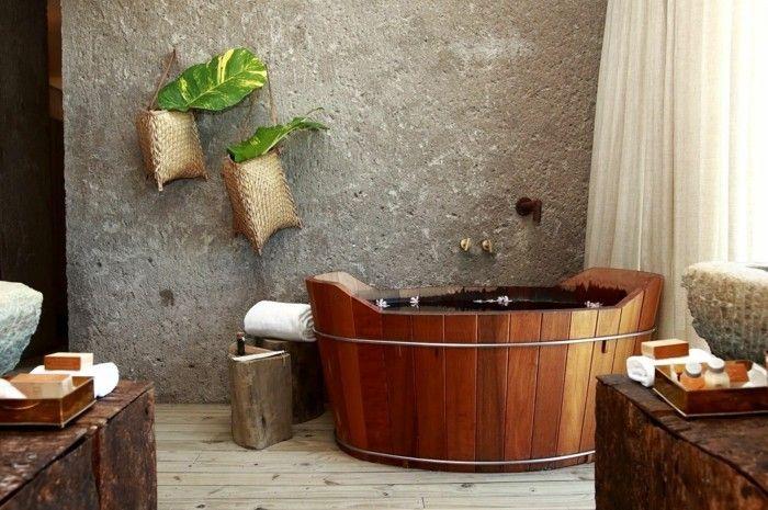 gruene zimmerpflanzen badezimmer gestalten regenwald Badezimmer