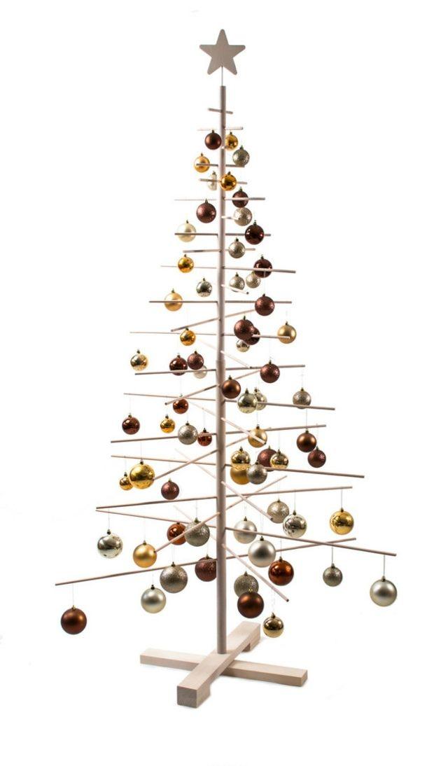 weihnachtsbaum aus holz ko freundlich der natur zuliebe tannenbaum. Black Bedroom Furniture Sets. Home Design Ideas