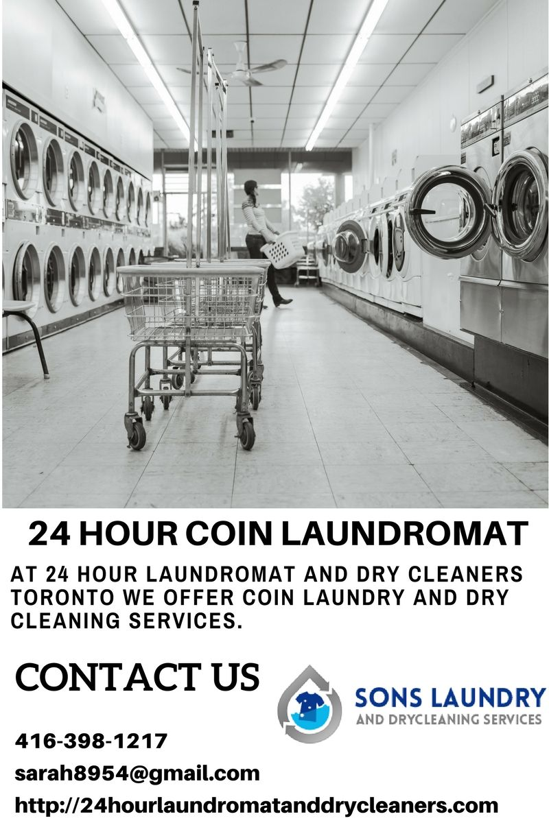 At 24 Hour Laundromat And Dry Cleaners Toronto We Offer Coin
