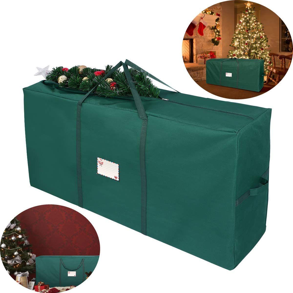 Amazon Com Unomor Christmas Tree Storage Bag Fit Up To 7 Christmas Tree Container Artifici Tree Storage Bag Christmas Tree Storage Bag Christmas Tree Storage