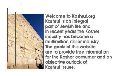 Welcome To Kashrut Org How To Become Free Information Kosher