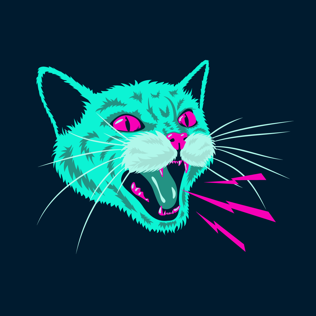 Angry Cat In 2021