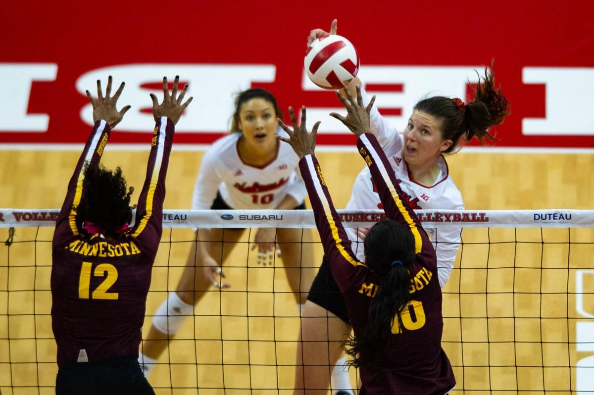 Foecke Hames Earn Big Ten Conference Volleyball Awards Volleyball Big Ten Minneapolis