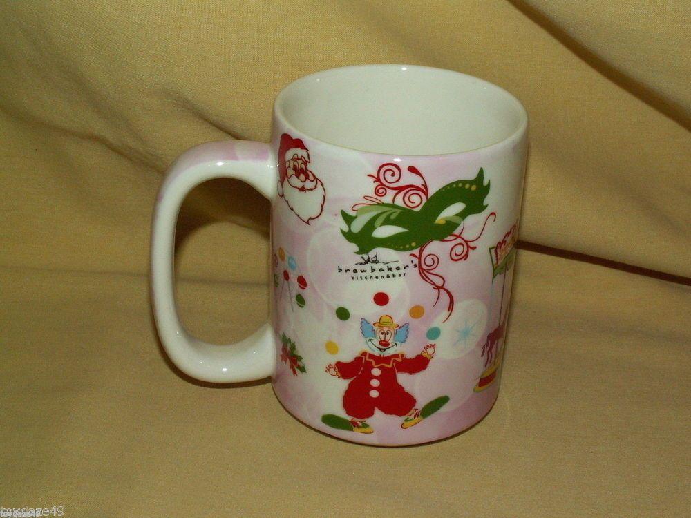 JP PEPPERDINE MUG CUP LUZERNE NEW BONE CHRISTMAS CARNIVAL SINGAPORE 1311 1111