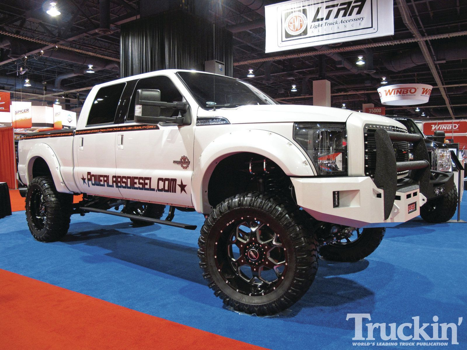 Lifted ford 2011 sema custom trucks lifted ford truck photo 30