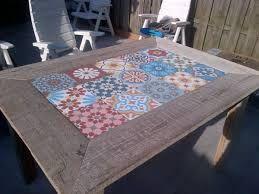 Risultato immagini per tavolo con piastrelle ceramica progetti