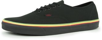 vans original  Authentic  (Rasta) black black   487e5cf27