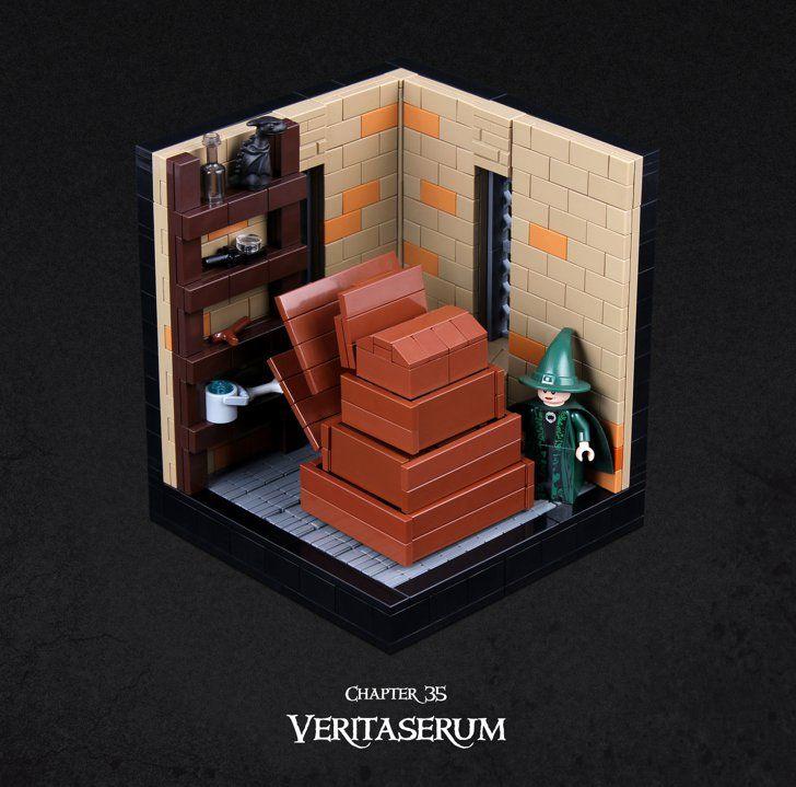 Chapter 35 Veritaserum Harry Potter Lego Sets Lego Harry Potter Lego Hogwarts