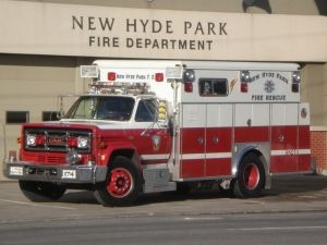 New Hyde Park Fire Department Gmc 7000 Ambulance With Images