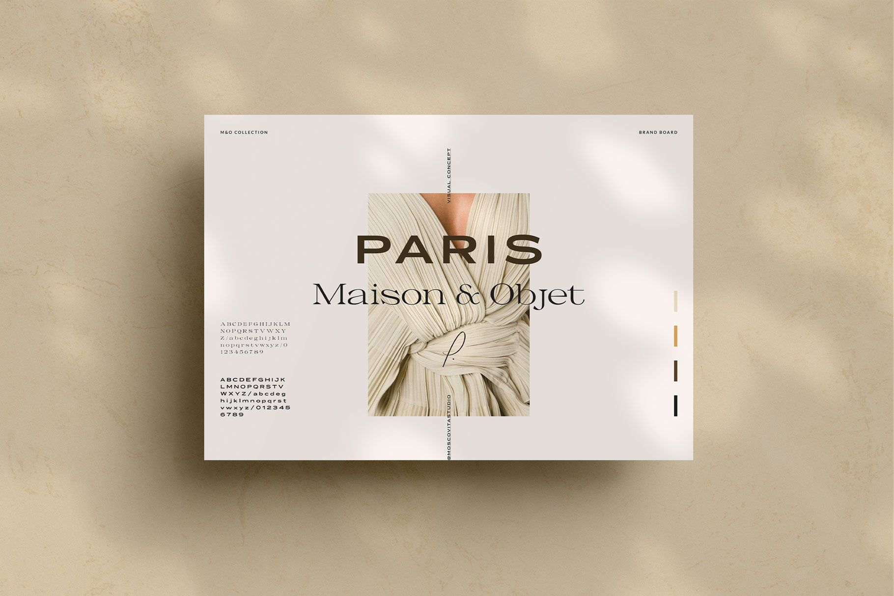 Brand Boards By Moscovita On Creativemarket In 2020 Brand Board Template Brand Board Professional Business Cards Templates