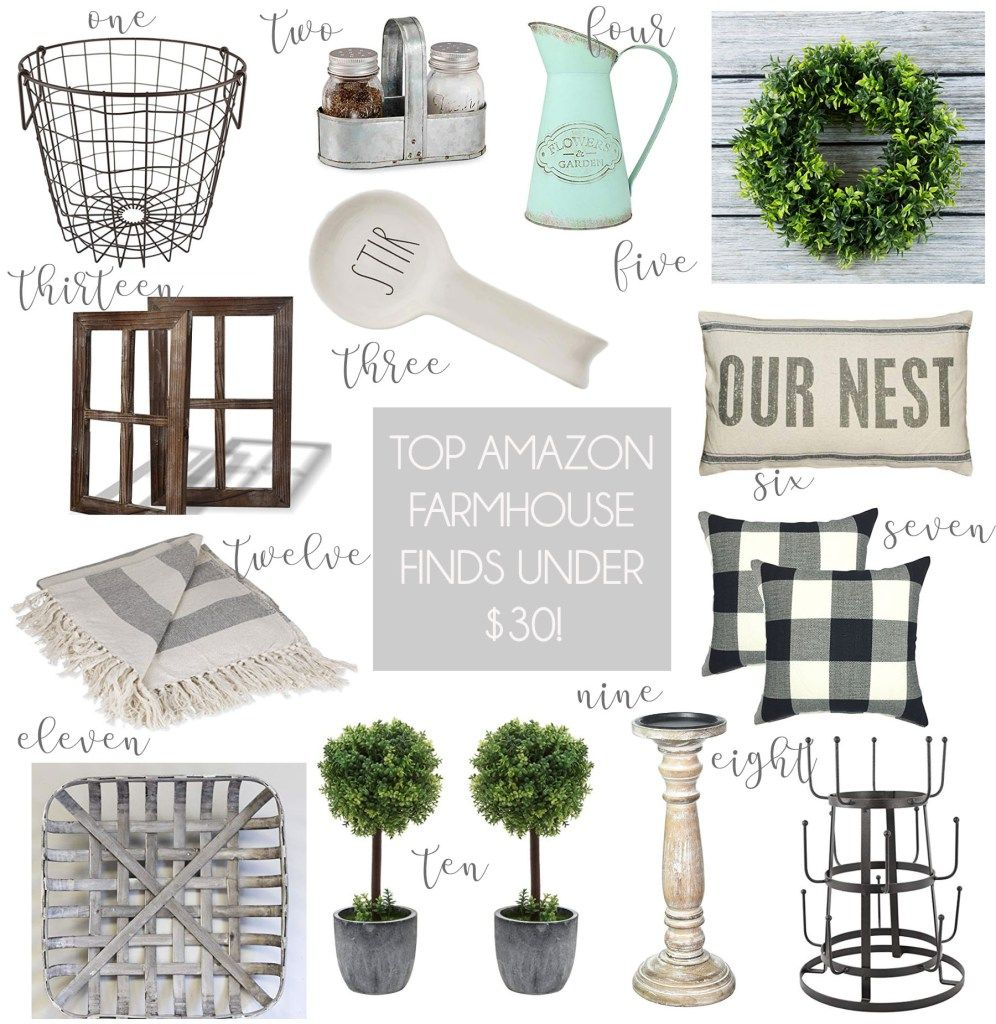 My Top Amazon Farmhouse Finds Under $30! images